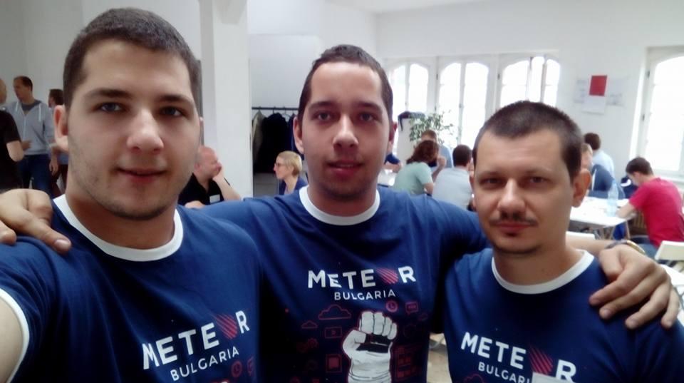 Meteor Unconference 2016 Bulgaria Crew